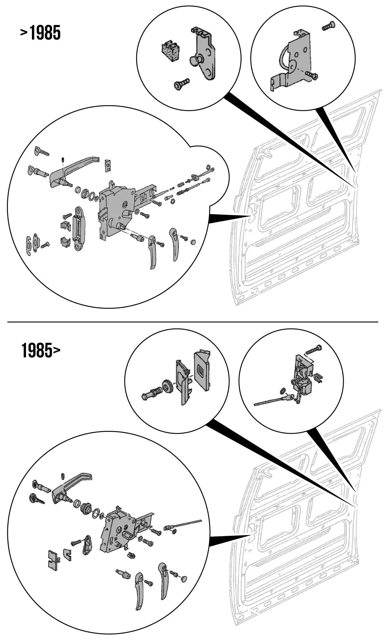 Door Parts Locks Amp Latches