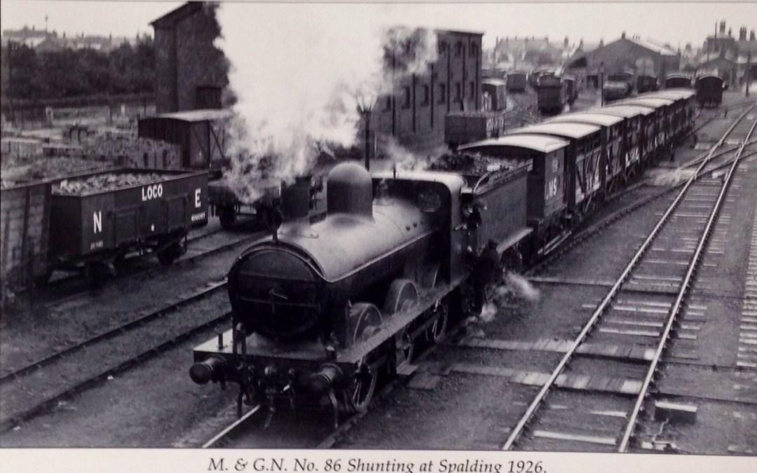 Shunting at Spalding Station. 1926