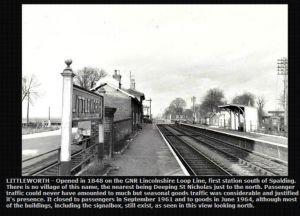 AOS P 1562 littleworth station deeping st nicholas
