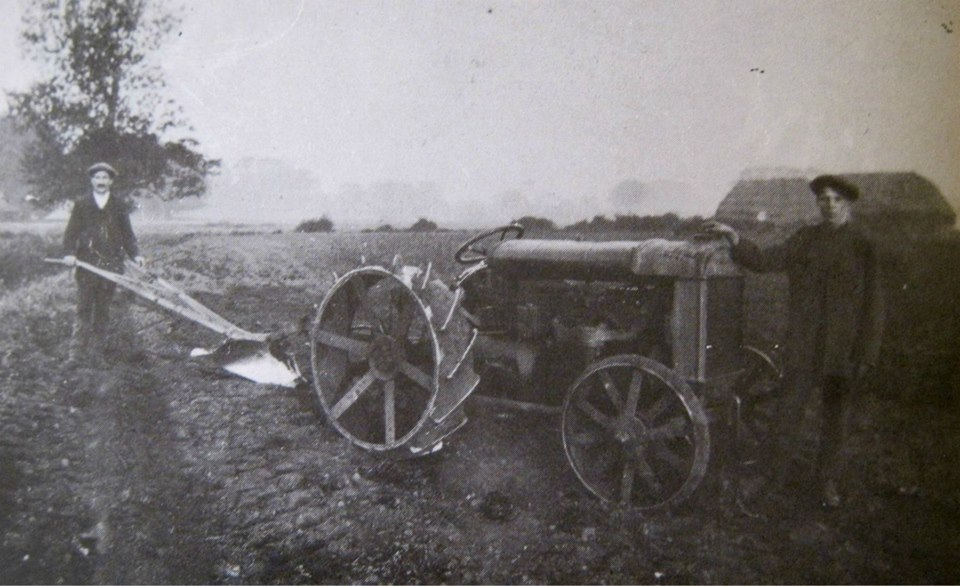 Farmworkers in Pinchbeck 1919