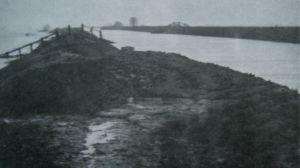 AOS P 1675 sealing of the breach in the bank river glen 1947
