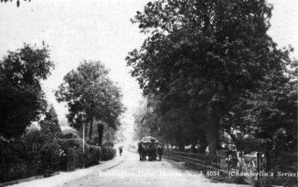 Barrington Gate, Holbeach  Postcard