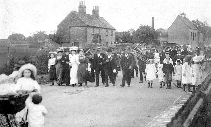 Unknown Parade in Market Deeping 1909