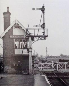 AOS P 1732 holbeach station signal box