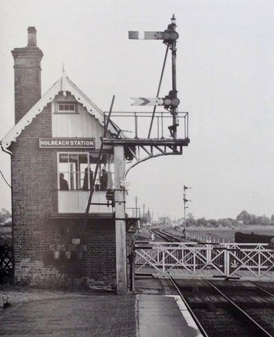 Holbeach Station Signal Box