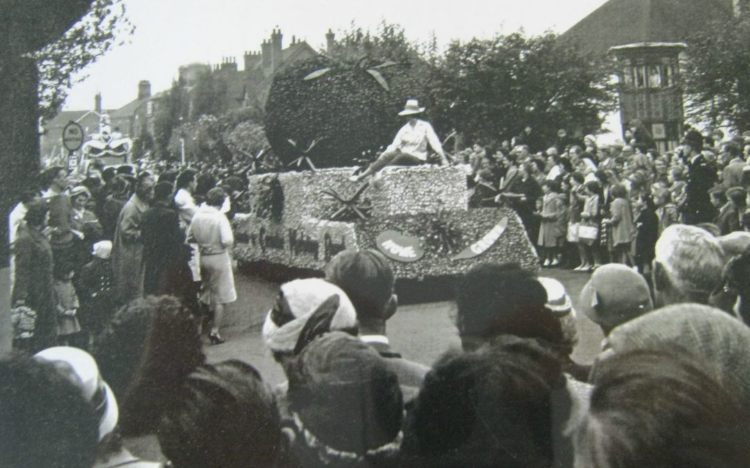 Video from the Flower Parade in 1968