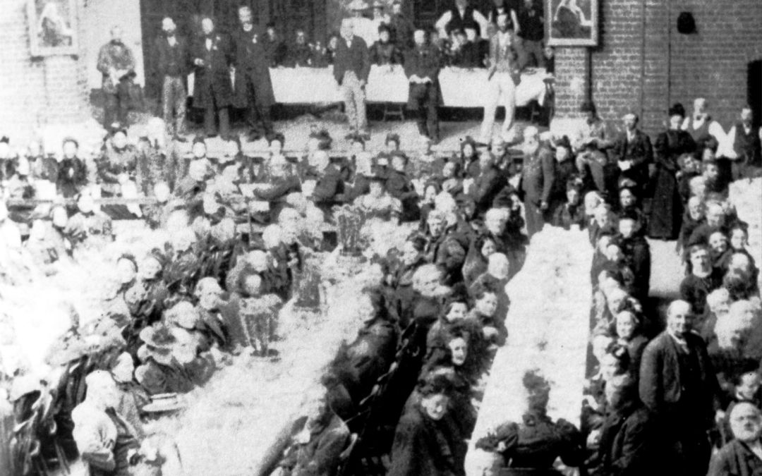 Queen Victoria Diamond Jubilee at Drill Hall