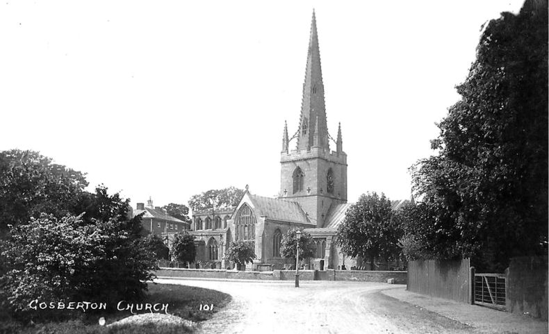 History of Gosberton Church