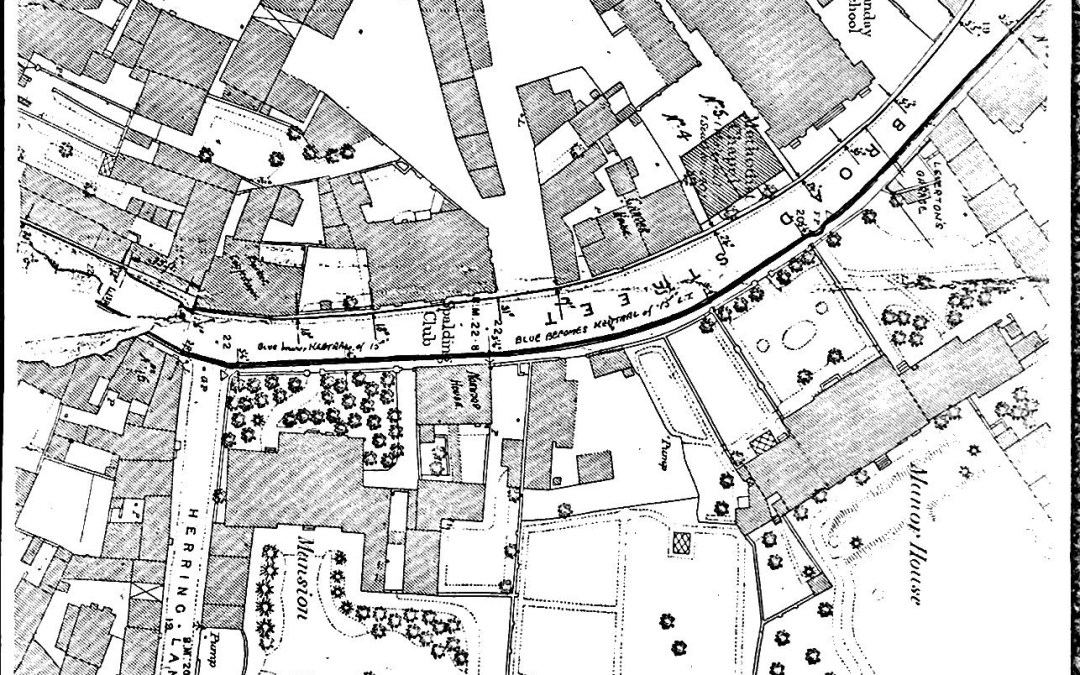 Map of Spalding but what is the Date