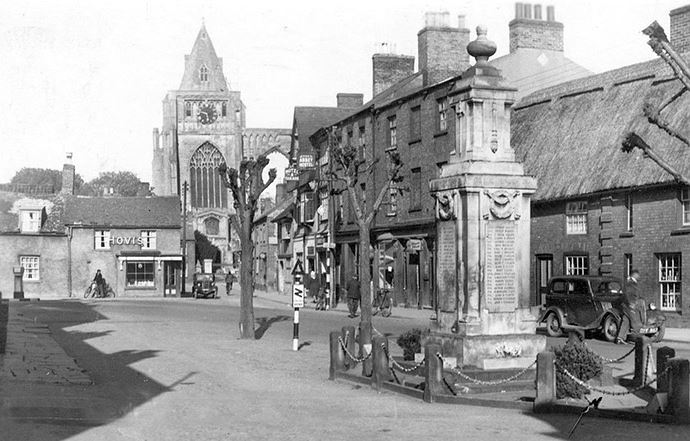 East Street, Crowland  dated 1950's