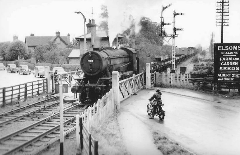 Rail Crossing in Pinchbeck Rd Spalding