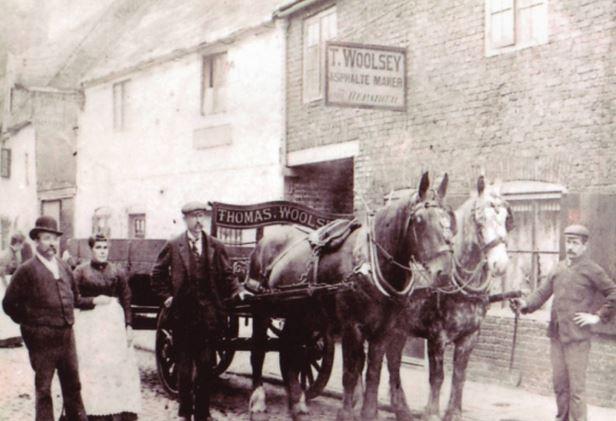 Thomas Woolsey, Asphalt Maker of Spalding