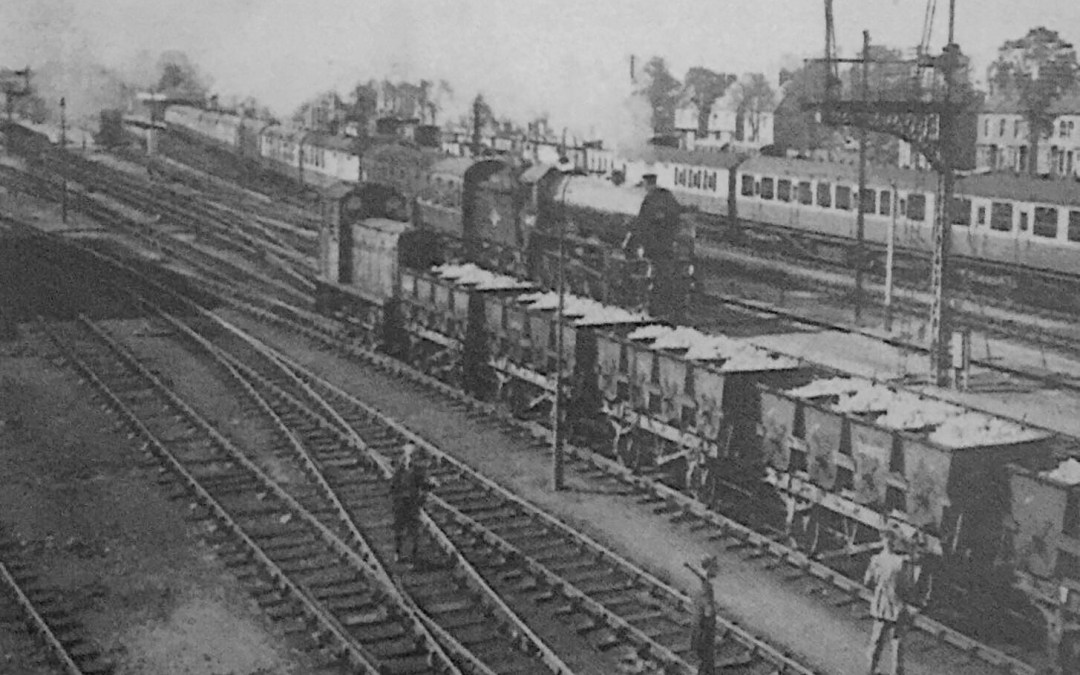 London Train At Spalding