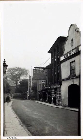 The Greyhound Hotel, Broad Street, Spalding