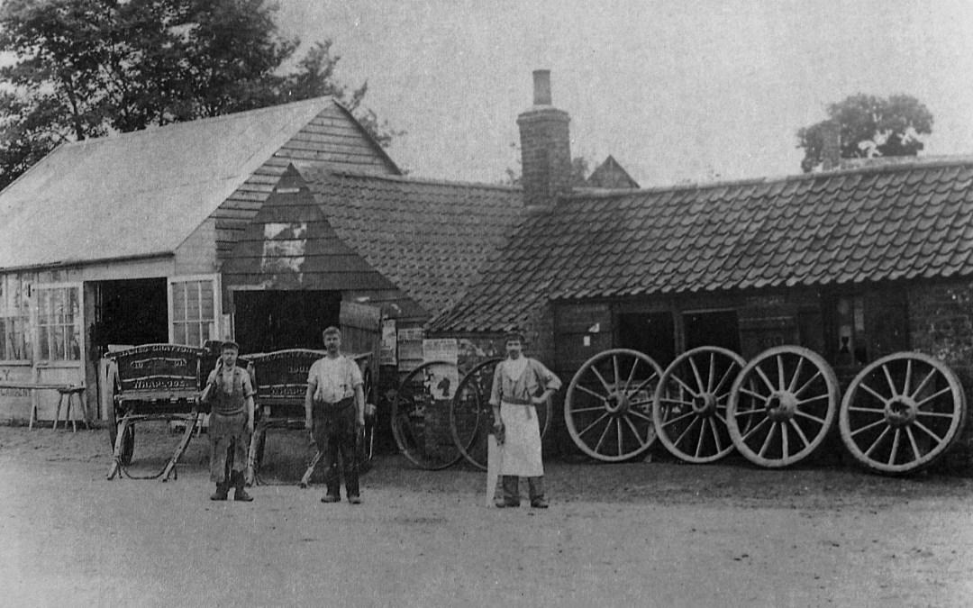 Blacksmith and Wheelwright at Saracens Head