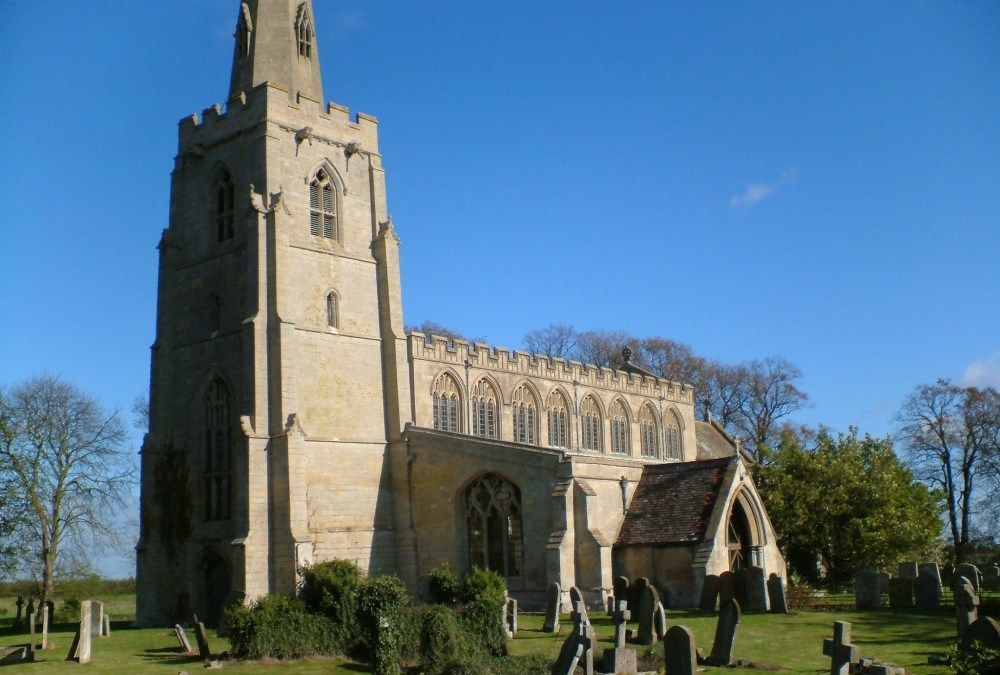 The history of St Margaret's Quadring including a flight through the church!