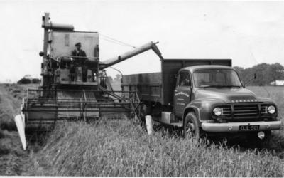 Farming on Surfleet Fen in 1959