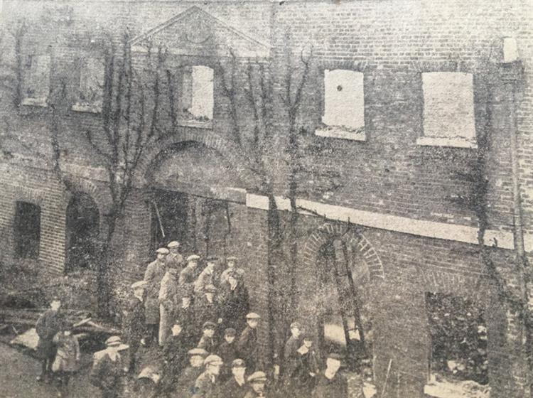 New Year's Eve fire at Spalding offices 1918 and events