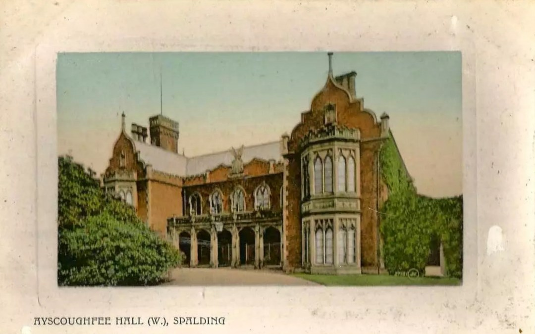 Ayscoughfee Hall 1908