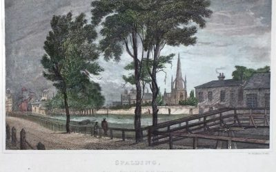 Spalding in 1834 an engraving by O N Simpson