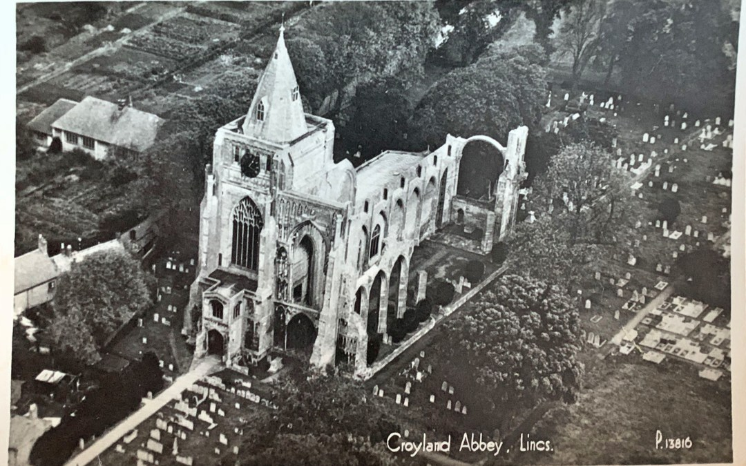 Views of Crowland Abbey – possibly 1915
