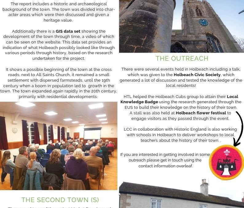 Lincolnshire  Extensive Urban Survey Newsletter