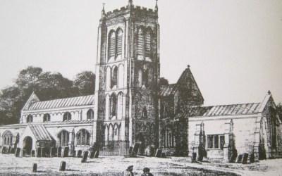 Whaplode Church dated 1842