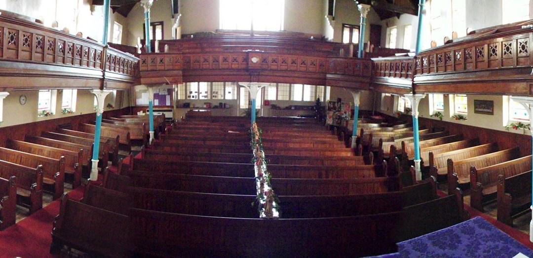 Inside Broad Street Methodist