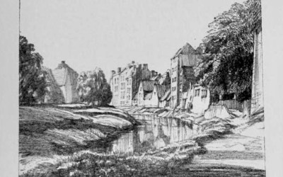 Sketches of the Spalding along the River Welland early 1900
