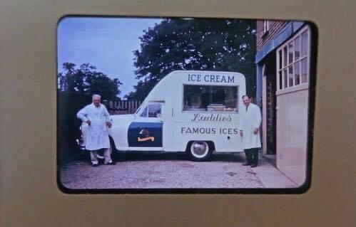 Laddies Ice Cream Van