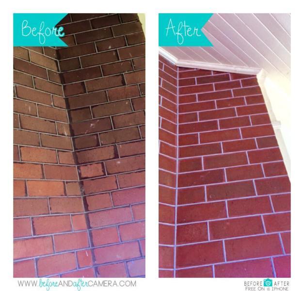 Brick Tuckpointing