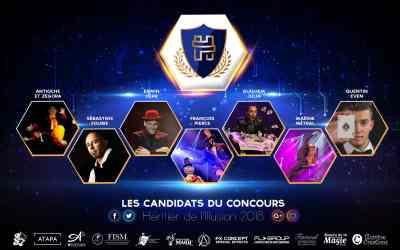 Les candidats du concours