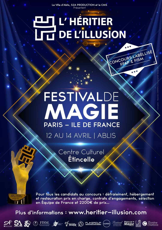 Billetterie et Affiche du gala de l'Héritier de l'Illusion