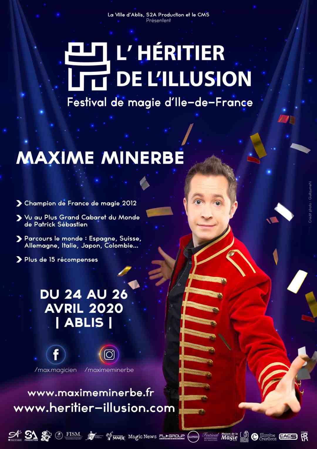 Affiche Maxime Minerbe Quick Change