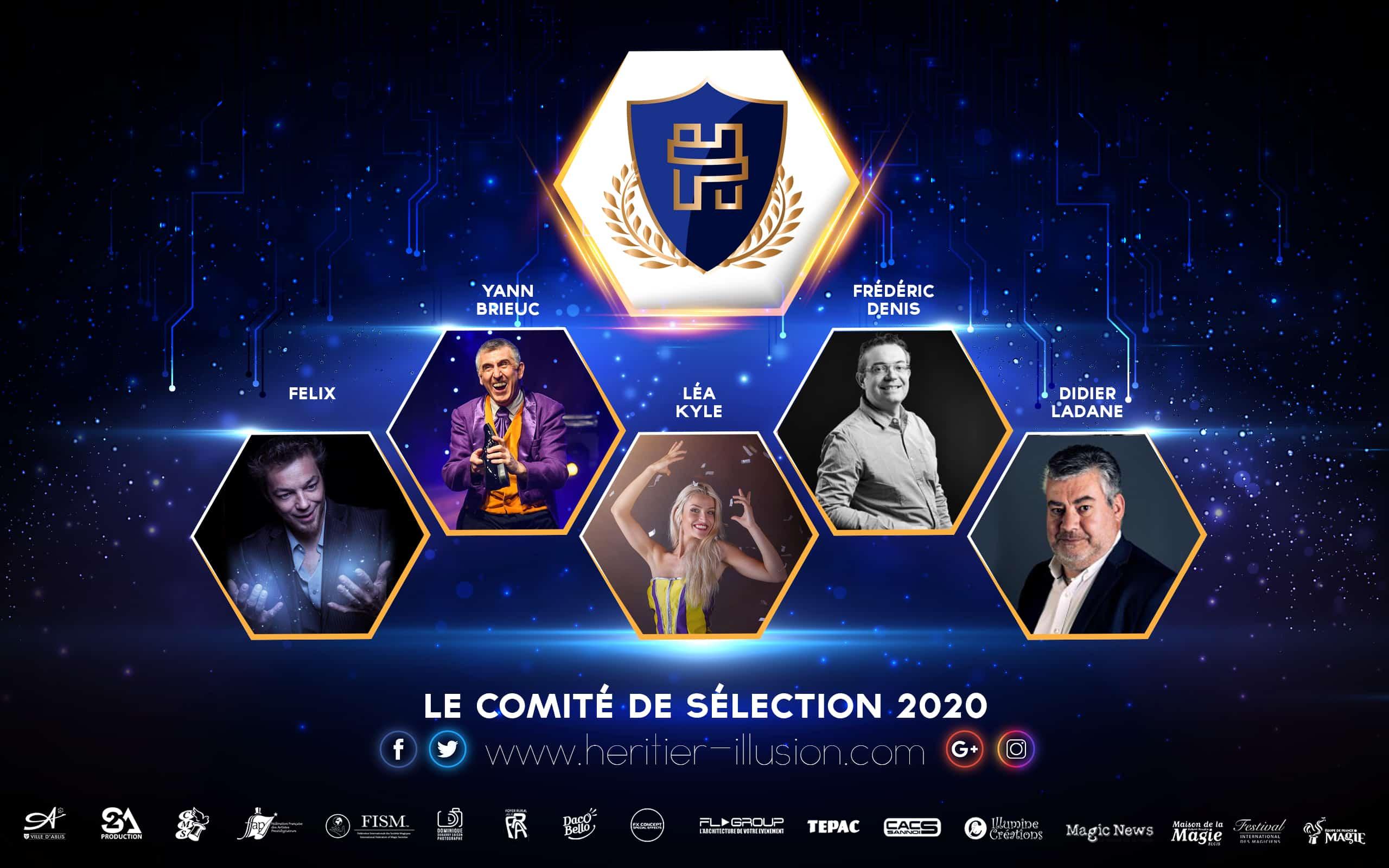 Comité de sélection Héritier de l'Illusion 2020