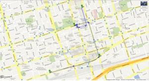 route Toronto