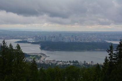 uitzicht over Vancouver