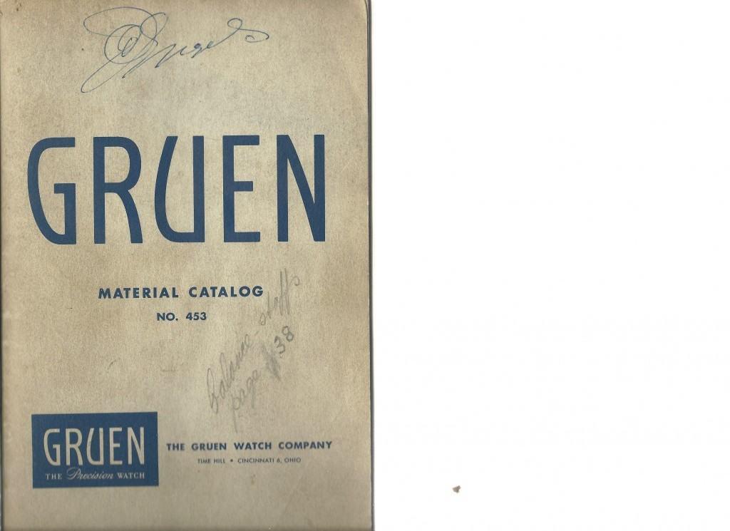 Gruen Material Catalog 453
