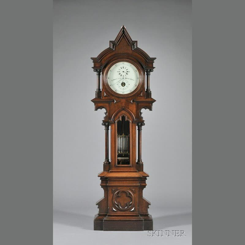 Herkner's Treasured Clock, the E Howard Regulator