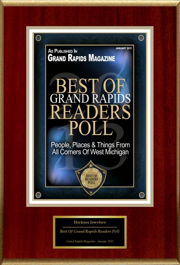 Herkner's Awarded Grand Rapids Best Jeweler