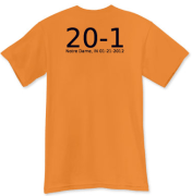 20-1!!!!! The Commemorative Shirt