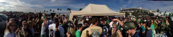 The Ship Tailgate Pano
