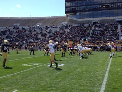 2013 Notre Dame Blue-Gold Game
