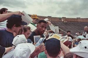 Derek Brown, Notre Dame Spring Game 1990