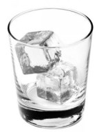 empty whiskey glass