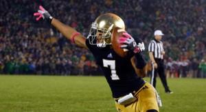 Notre Dame Fighting Irish wide receiver T.J. Jones (7). (Photo: Brian Spurlock /US PRESSWIRE)