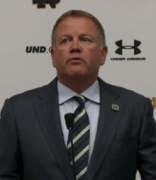 Questions on the Academic Investigation Dominate the Brian Kelly Presser