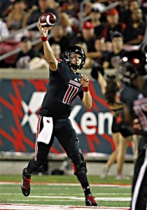 Louisville QB Will Gardner. Not related to Michigan QB Devin Gardner. Source: Kansas City Star