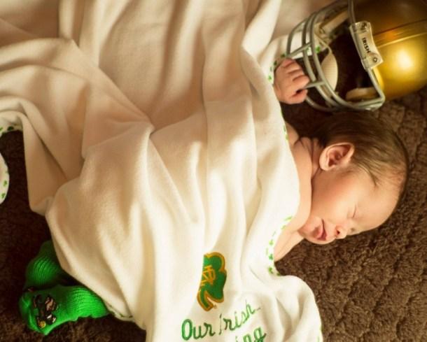 Baby Tex ND Irish Blessing