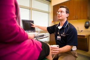 Dr. Shane Hudnall / Courtesy of Cone Health Sports Medicine
